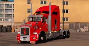 buy new kenworth truck kenworth t800 v 1 2 truck american truck simulator mod ats mod