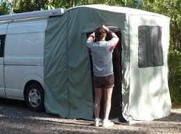 Van Rear Door Awning Rear Annexe For Campervans