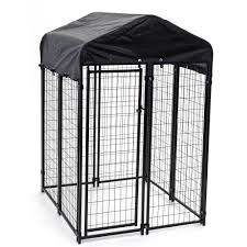 lucky dog welded wire uptown dog kennel 6 u0027x 4 u0027 x4 u0027 walmart com