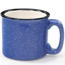 coffee mug santa fe campfire coffee mug ocean blue ceramic mugs