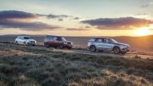 Audi Q7 Off Road - triple test volvo xc90 vs audi q7 vs land rover discovery top gear