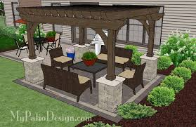 Cheap Pergola Ideas by Patio Patio With Pergola Home Interior Decorating Ideas