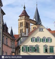 stuttgart church stadtkirche st dionys esslingen am neckar deutschland saint