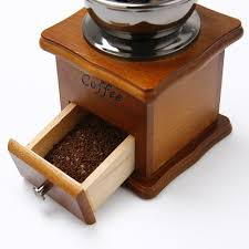Old Fashioned Coffee Grinder Amazon Com Manual Wooden Coffee Mill Grinder Vintage Style Coffee