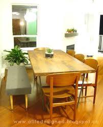 Diy Mid Centurey Modern Dining Chair Life Designed Diy Mid Century Bench