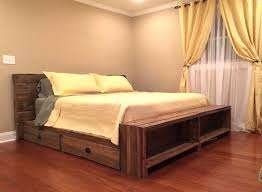 platform bed with storage underneath king ideas fancy beds drawers