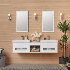 White Wall Bathroom Cabinet Rebecca Vanity Collection U2013 Ronbow