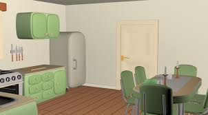 cartoony kitchen 3d cgtrader