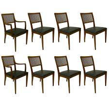 Drexel Dining Room Table Set Of Eight Chairs By John Van Koert For Drexel At 1stdibs