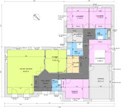 plan maison plain pied 5 chambres maison plain pied 5 chambres avec suite parentale con plan maison