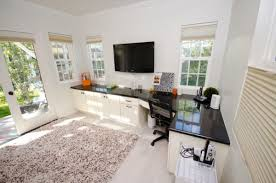 Ideas For A Multipurpose Officework Space - Family room office