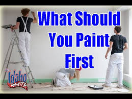 How Much To Paint A Bedroom Interior Painting Tips What To Paint First When Painting A Room