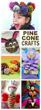 16 awesome kids crafts using pine cones who knew there were so