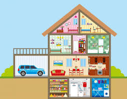 rooms in the house house talking flashcards link home building plans 61367