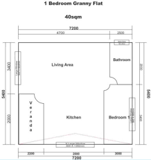 1 bedroom granny flat floor plans wendy factory 1 bed log house