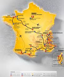 Lourdes France Map by Tour De France Route Map Recana Masana