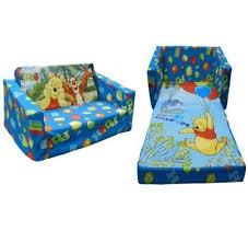 disney winnie the pooh childrens flip out double foam sofa settee