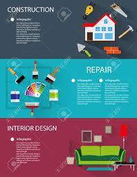 architecture construction interior design conceptual backgrounds