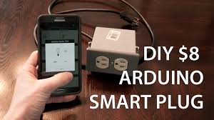 smartphone controlled outlet 8 diy arduino smart outlet l module youtube