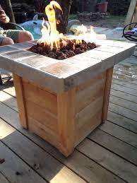 Firepit Tables Best 25 Diy Gas Pit Ideas On Pinterest Firepit Glass Gas How