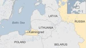 russia map border countries poland to build russia border towers at kaliningrad news