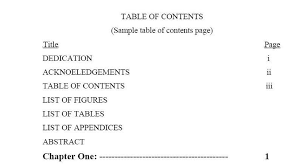 table of contents and list of figures in latex physics forums