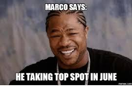 Marco Meme - marco says he takingtopspotin june com marcos meme on me me