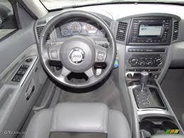 jeep grand cherokee dashboard 2007 jeep grand cherokee srt8 4x4 medium slate gray dashboard