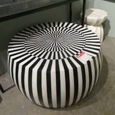 black and white side table janson striped horn and bone coffee table made goods black white
