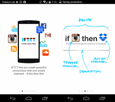 ifttt android if this then that ifttt app for android released ghacks tech news