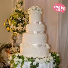 wedding cake semarang ineke cake feel the lovely taste