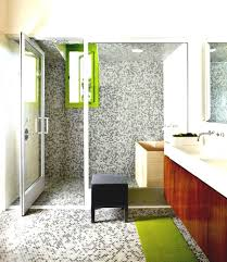 small bathroom ideas wall planted foliage white amethyst