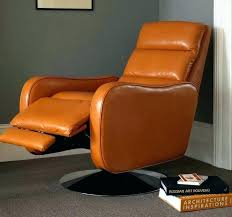 vintage recliner chair vintage leather revolving reclining chair