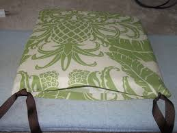 loving life no sew seat cushions