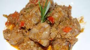 cuisine rognon ragout de rognon de veau recette par tchop afrik a cuisine