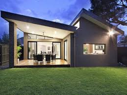 Single Story Tiny Homes Image Result For Contemporary Flat Sloped Single Storey Houses