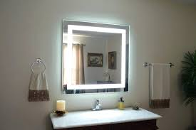 Bathroom Mirrors Led Wall Mounted Lighted Vanity Mirror Led Mam84836 Light Wall