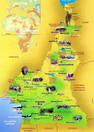 Gabon Africa Map by Detailed Tourist Map Of Cameroon Cameroon Africa Mapsland