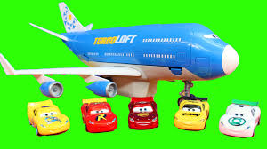 disney pixar cars remote control everett transporter jet lightning