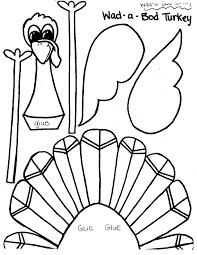 printable thanksgiving turkey crafts u2013 happy thanksgiving