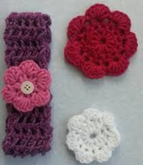 crochet hair bands pink crochet hair band for baby with flowers baby band