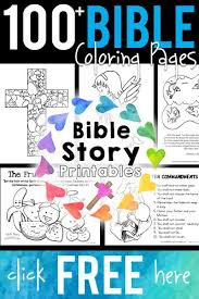 bible stories for toddlers coloring pages free bible coloring pages from bible story printables http www