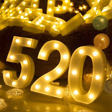 marquee numbers with lights led marquee number lights diy 26 alphabet light up marquee numbers