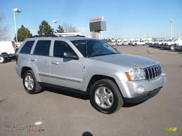 silver jeep grand cherokee 2005 jeep grand cherokee limited 4x4 in bright silver metallic
