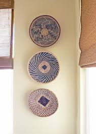 Decorative Wall Art by Decorative Wall Baskets Wall Art Design