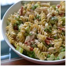easy chicken caesar pasta salad small town woman
