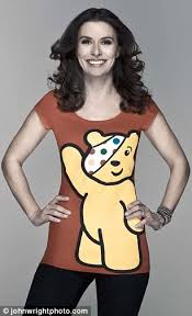 children in need 2010 gail porter and tana ramsay dress up for