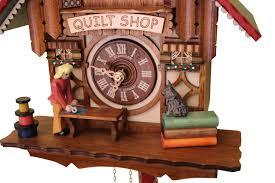 Modern Coo Coo Clock Quilt Shop Cuckoo Clock It U0027s Animated