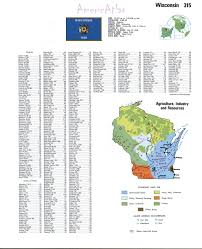 Wisconsin Topographic Map by Topographic Map Of Wisconsinfree Maps Of North America