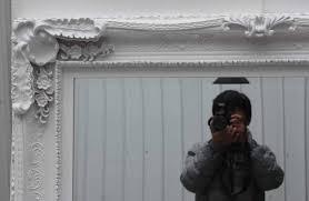 White Wall Mirror Large Ornate White Wall Mirror
